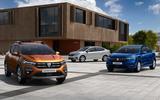 Dacia Sandero, Sandero Stepway and Logan