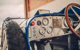 Bugatti Baby II  dash