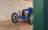 Bugatti Baby II  front