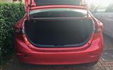 Mazda 3 Fastback boot