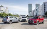 2020 Toyota Corolla Cross Thailand launch - trio