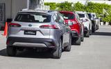 2020 Toyota Corolla Cross Thailand launch - queue