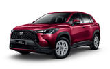 2020 Toyota Corolla Cross Thailand launch - front