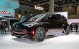 Toyota's hydrogen-powered S-Class rival