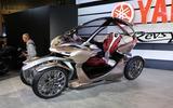 Yamaha quadricycle