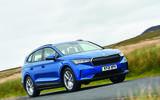 Top 10 family electric  cars Skoda Enyaq iv