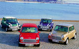 Rover Mini group at dockside