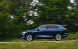 Volkswagen Touareg 3.0 TSI 2019 UK first drive review - on the road side