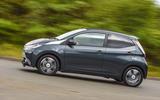 Toyota Aygo X-clusiv side profile