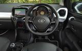 Toyota Aygo X-clusiv dashboard