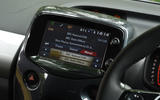 Toyota Aygo X-clusiv infotainment