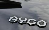 Toyota Aygo X-clusiv badging