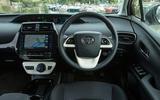 Toyota Prius PHEV dashboard