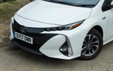 Toyota Prius PHEV front end