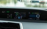 Toyota Prius PHEV information display