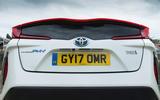 Toyota Prius PHEV rear lights