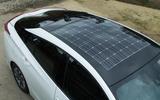 Toyota Prius PHEV roof line