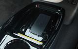 Toyota Prius PHEV wireless phone charging port