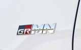 Toyota Yaris GRMN badging