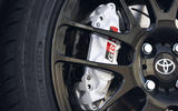 Toyota Yaris GRMN brake calipers