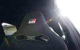 Toyota Yaris GRMN bucket seats