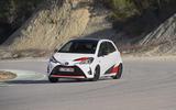 Toyota Yaris GRMN hard cornering