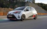 Toyota Yaris GRMN on the track