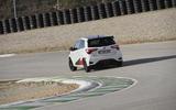 Toyota Yaris GRMN rear cornering