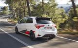 Toyota Yaris GRMN rear quarter