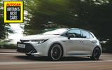 Britain's Best Car Awards 2020 - Toyota Corolla hybrid