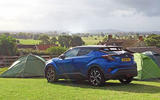 Toyota C-HR long-term review camping
