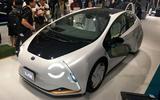 Toyota LQ concept - front