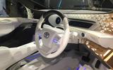 Toyota LQ at Tokyo 2019 - interior
