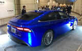 Toyota Mirai concept hydrogen fuel cell car - rear