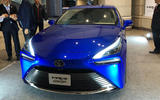Toyota Mirai concept at Tokyo motor show - front end