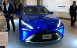 Toyota Mirai concept at Tokyo motor show - nose