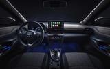 2020 Toyota Yaris Cross official image - interior
