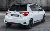 Toyota Yaris GR Sport official reveal rear