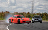Porsche 718 Cayman S and BMW M2