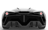 Tritium electric supercar - rear