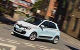 Renault Twingo cornering