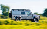 Twisted Defender V8 2018 UK first drive review - hero front