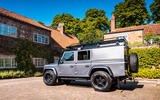 Twisted Defender V8 2018 UK first drive review - on the road rear