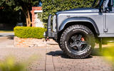 Twisted Defender V8 2018 UK first drive review - alloy wheels