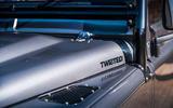 Twisted Defender V8 2018 UK first drive review - bonnet