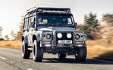 Twisted Defender V8 2018 UK first drive review - on the road