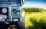 Twisted Defender V8 2018 UK first drive review - front bumper