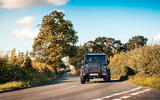 Twisted Defender V8 2018 UK first drive review - cornering