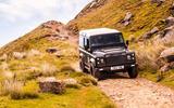 Twisted Defender V8 2018 UK first drive review - rocks