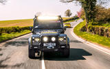 Twisted Defender V8 2018 UK first drive review - bright